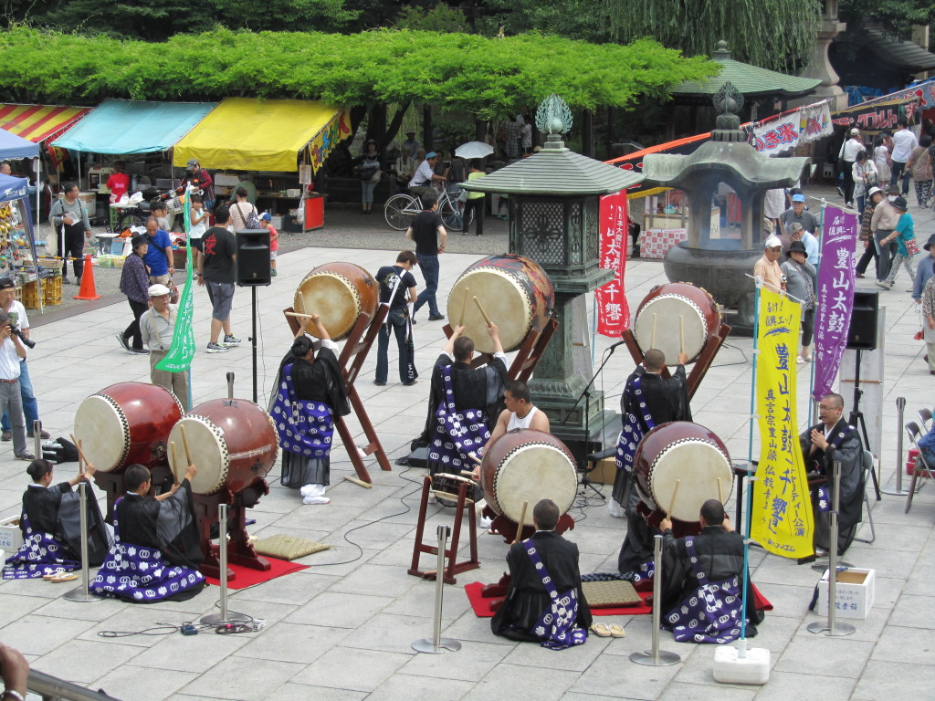 Drummers at Sojiji Temple