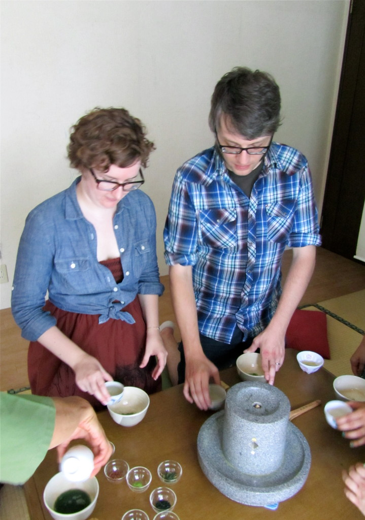 Making Matcha at Obubu Tea Farm